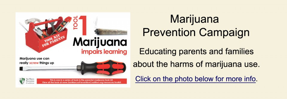 Marijuana Prevention Campaign